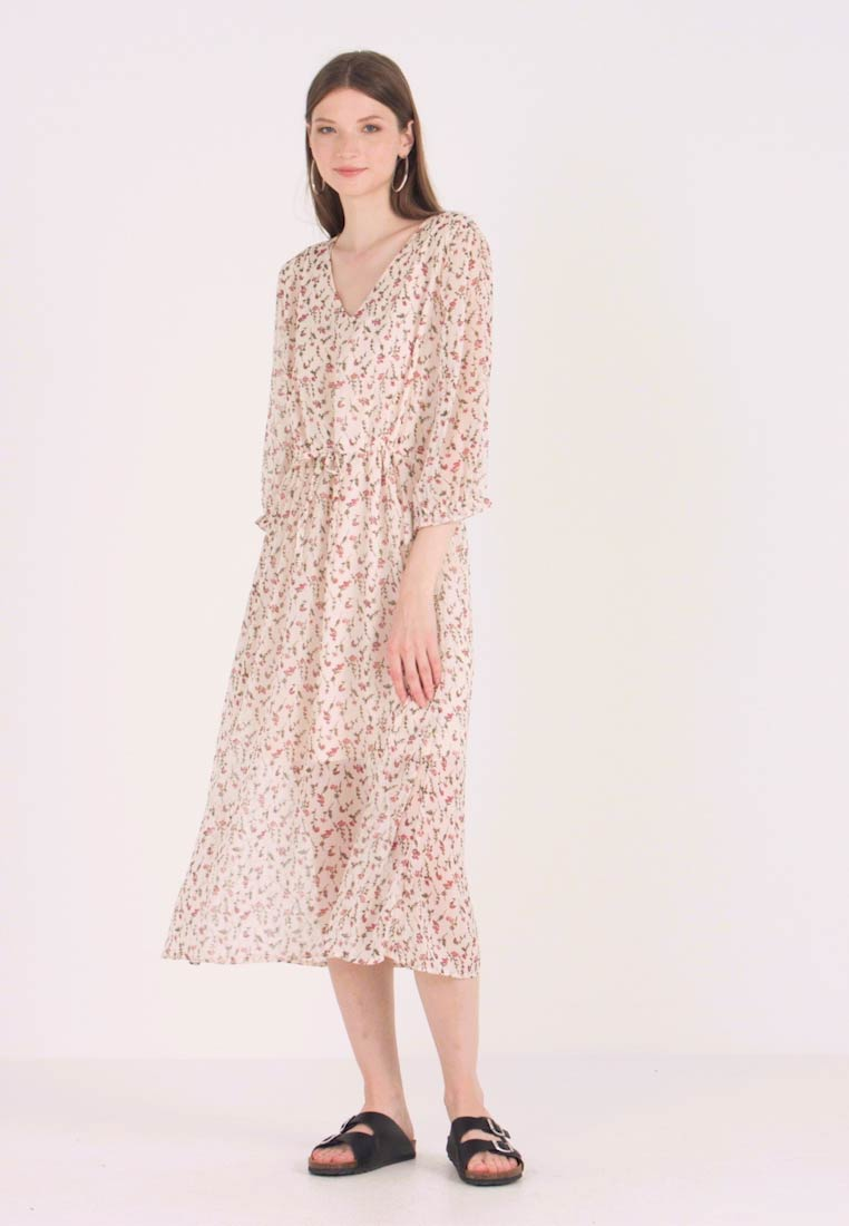 JDY - JDYFREYA 3/4 DRESS - Korte jurk - cream pink - 1