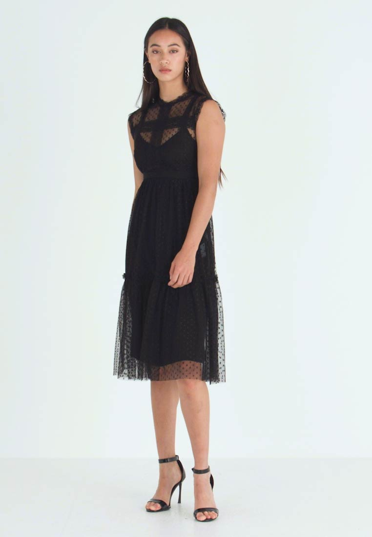 JDY - JDYLINE DRESS - Cocktailkjoler / festkjoler - black - 1