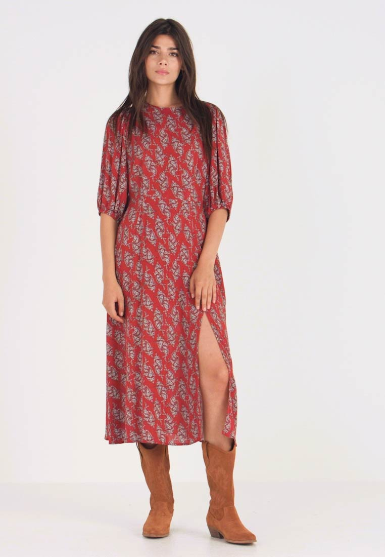Louche - RILEY PAISLEY - Maxikleid - red - 1