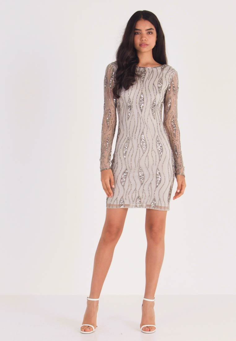 Lace & Beads Tall - BROOKLYN DRESS - Cocktail dress / Party dress - grey - 1