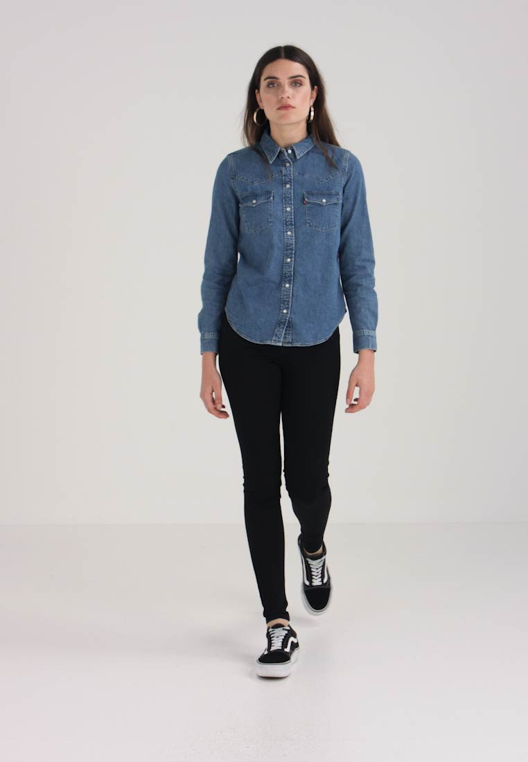 Levi's® - ULTIMATE WESTERN - Button-down blouse - livin' large - 1