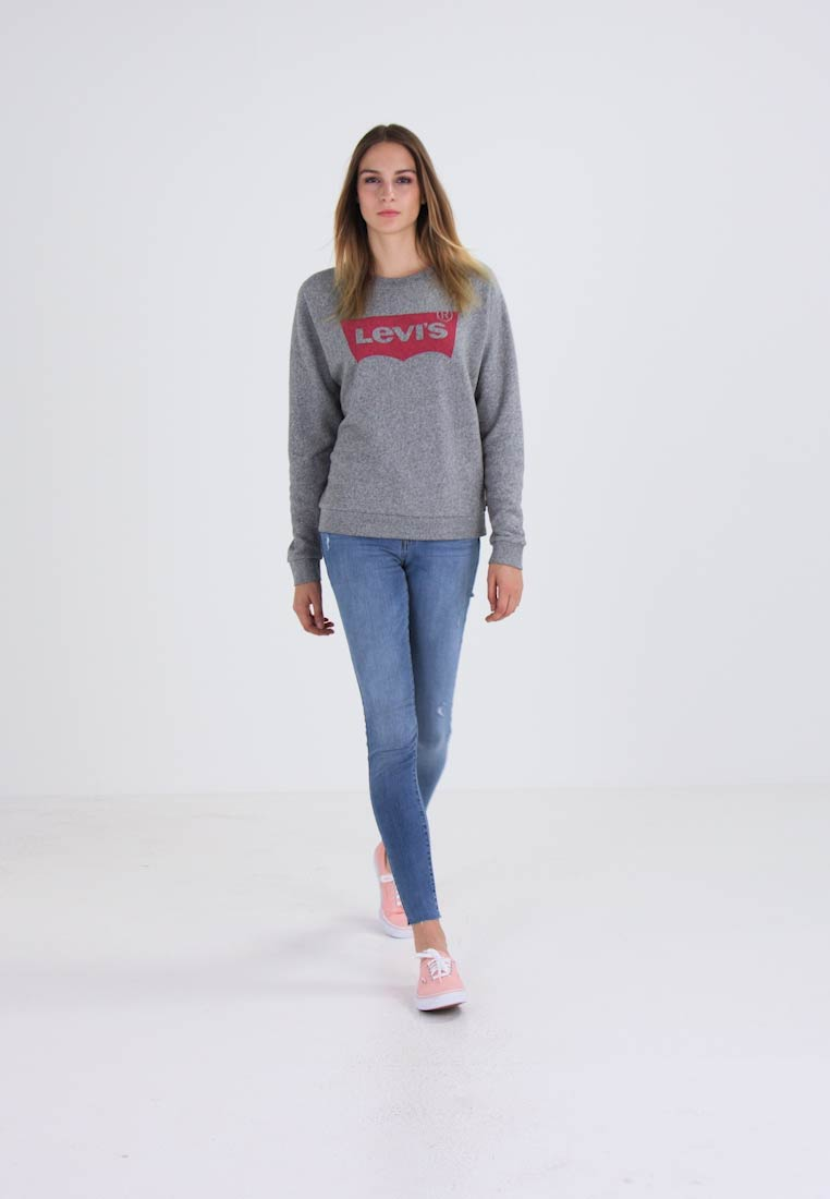 Levi's® - RELAXED GRAPHIC CREW - Sweatshirt - smokestack heather - 1