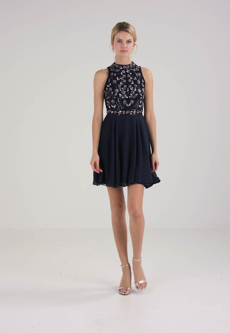 Lace & Beads - ALLEY SKATER - Cocktail dress / Party dress - navy - 1