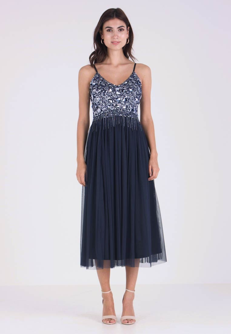 Lace & Beads - RIRI MIDI - Cocktail dress / Party dress - navy - 1