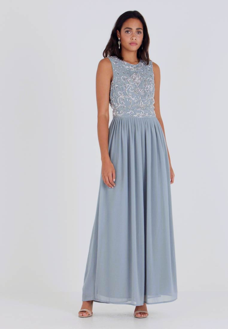 Lace & Beads - PAULA MAXI - Galajurk - light blue - 1
