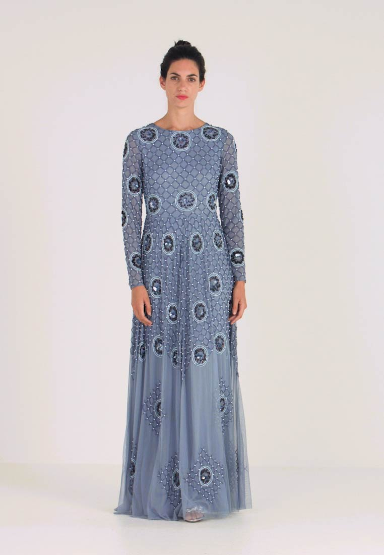 Lace & Beads - AMBER - Occasion wear - blue - 1