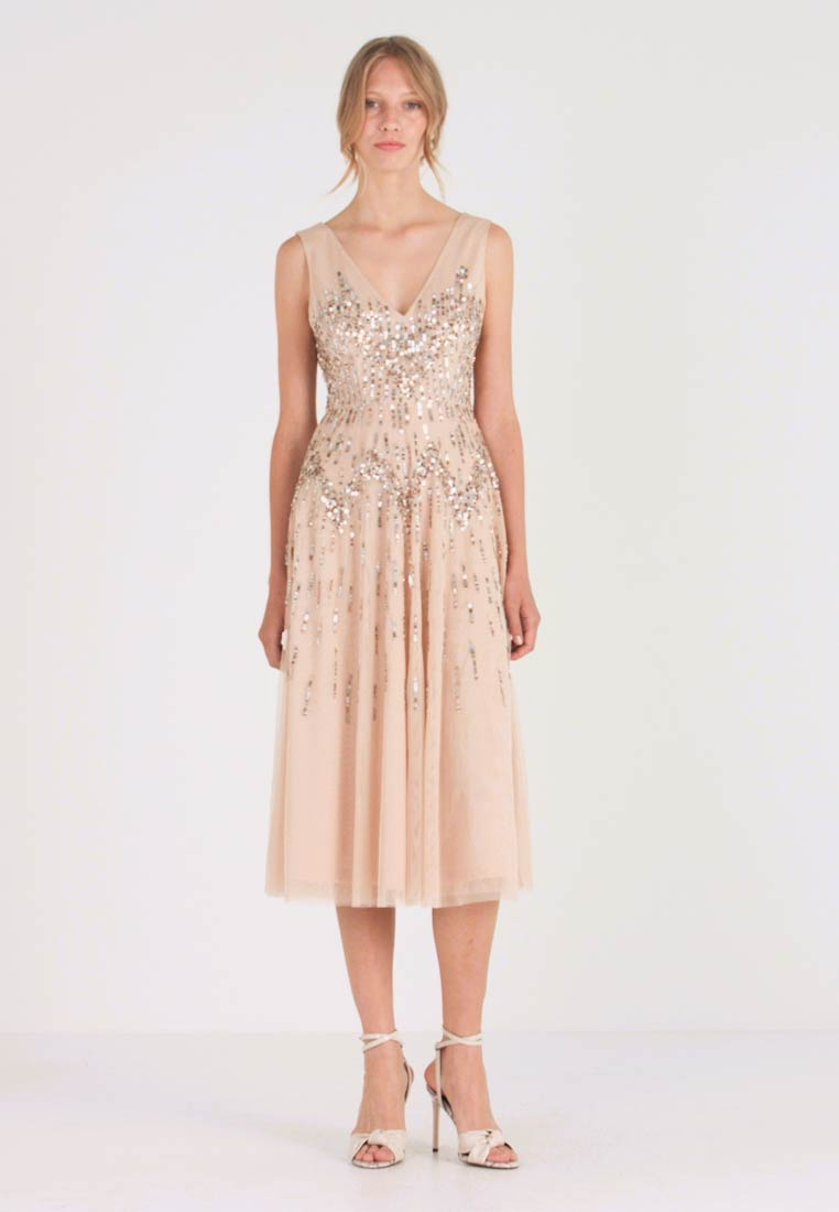 Lace & Beads - RUMI DRESS - Robe de soirée - nude - 1