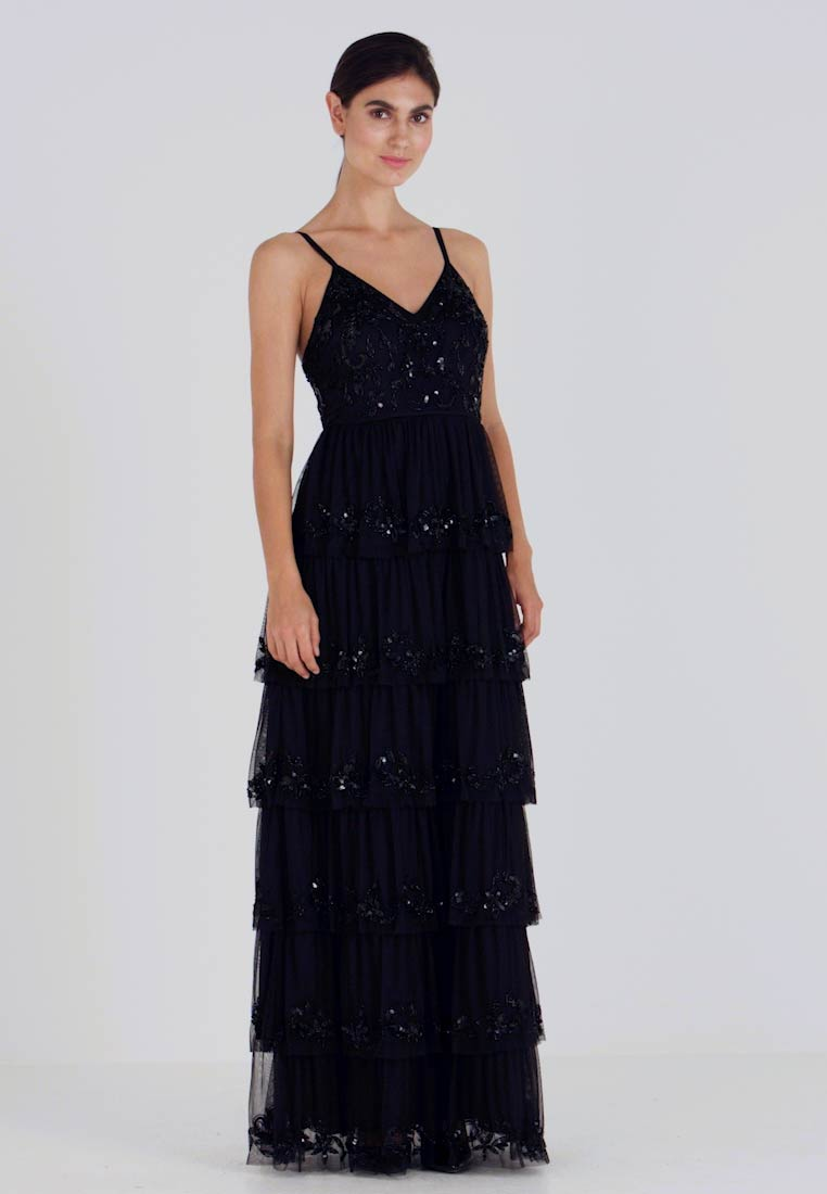 Maya Deluxe - EMBELLISHED CAMI MAXI DRESS WITH TIERED SKIRT - Ballkjole - black - 1