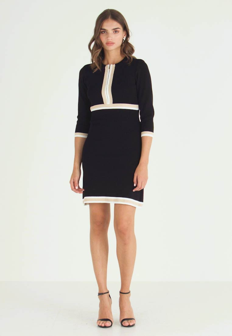 Morgan - MAYO - Jumper dress - noir/gold - 1