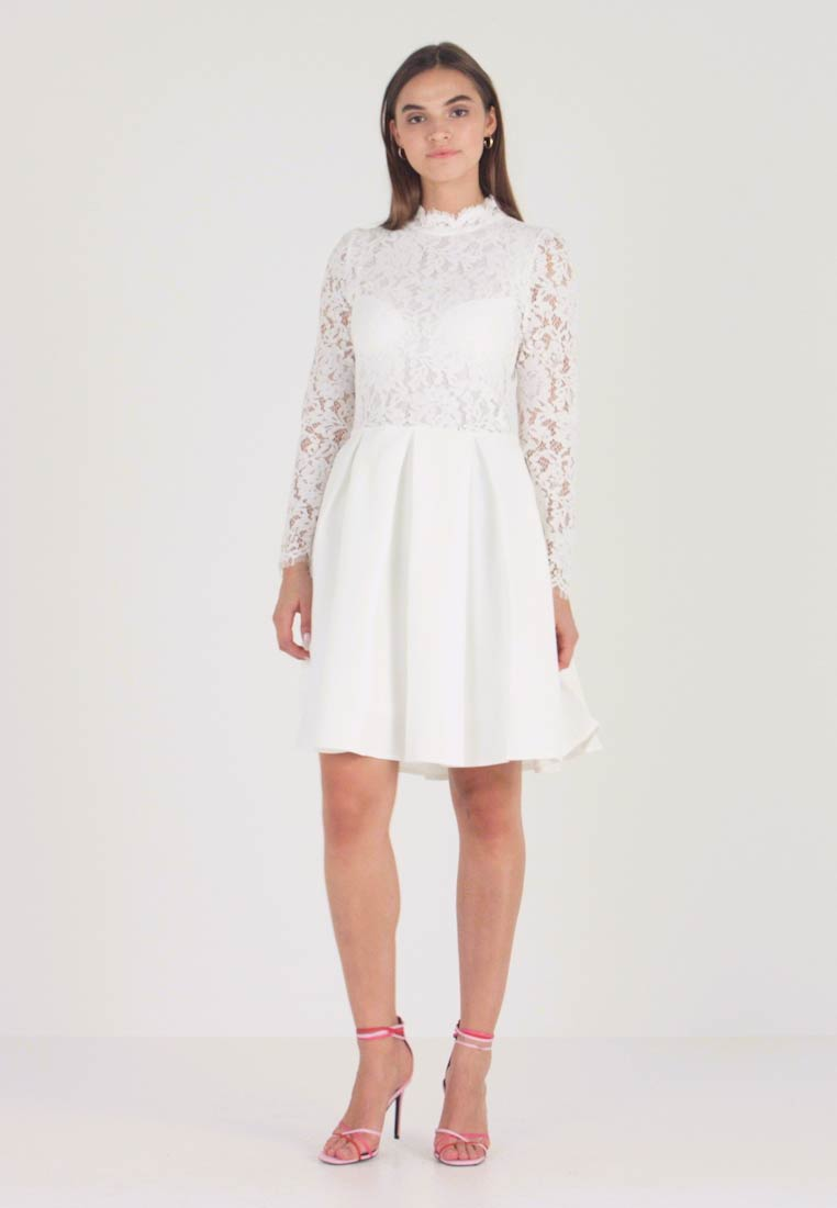 Molly Bracken - LONG SLEEVES - Vestido de cóctel - white - 1