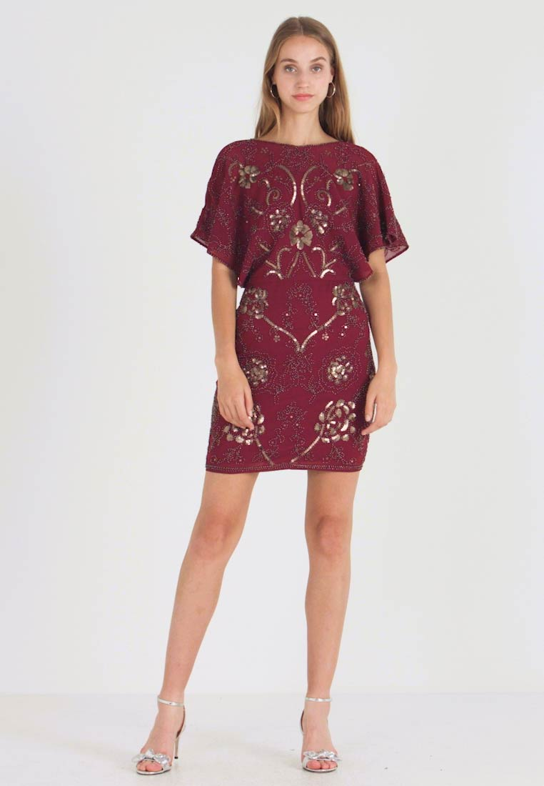 Molly Bracken - LADIES DRESS - Cocktailklänning - dark red - 1