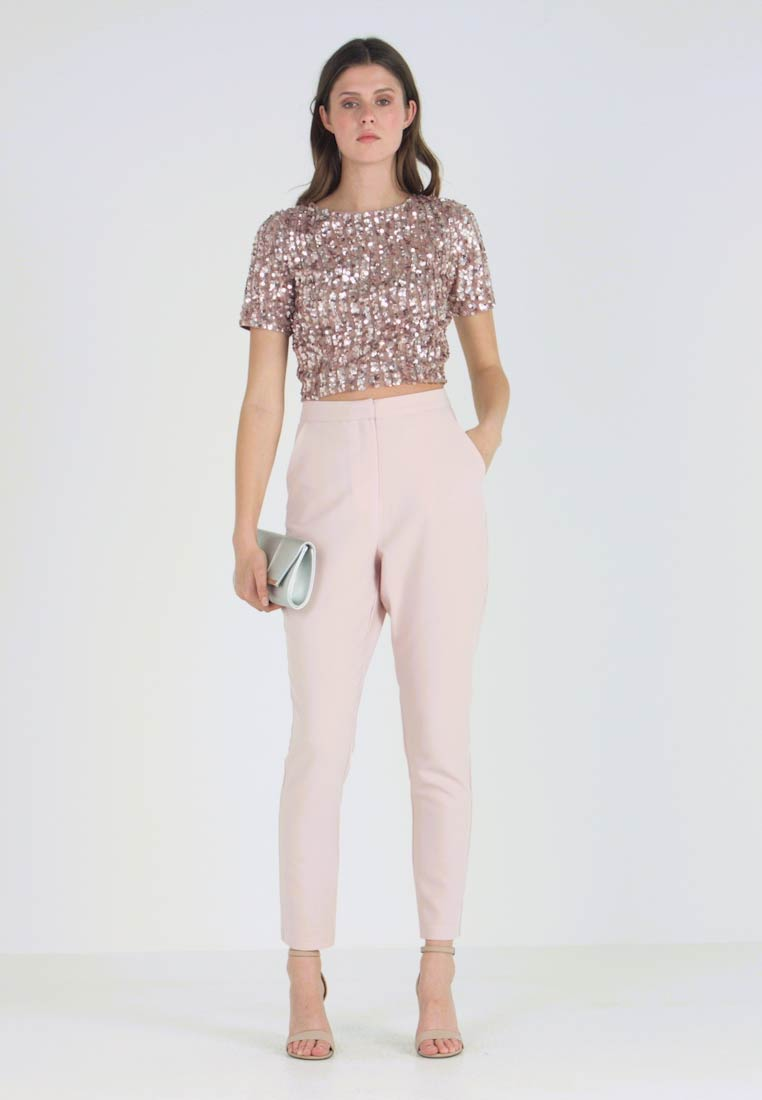 Missguided Tall - CIGARETTE TROUSER - Kalhoty - pink - 1