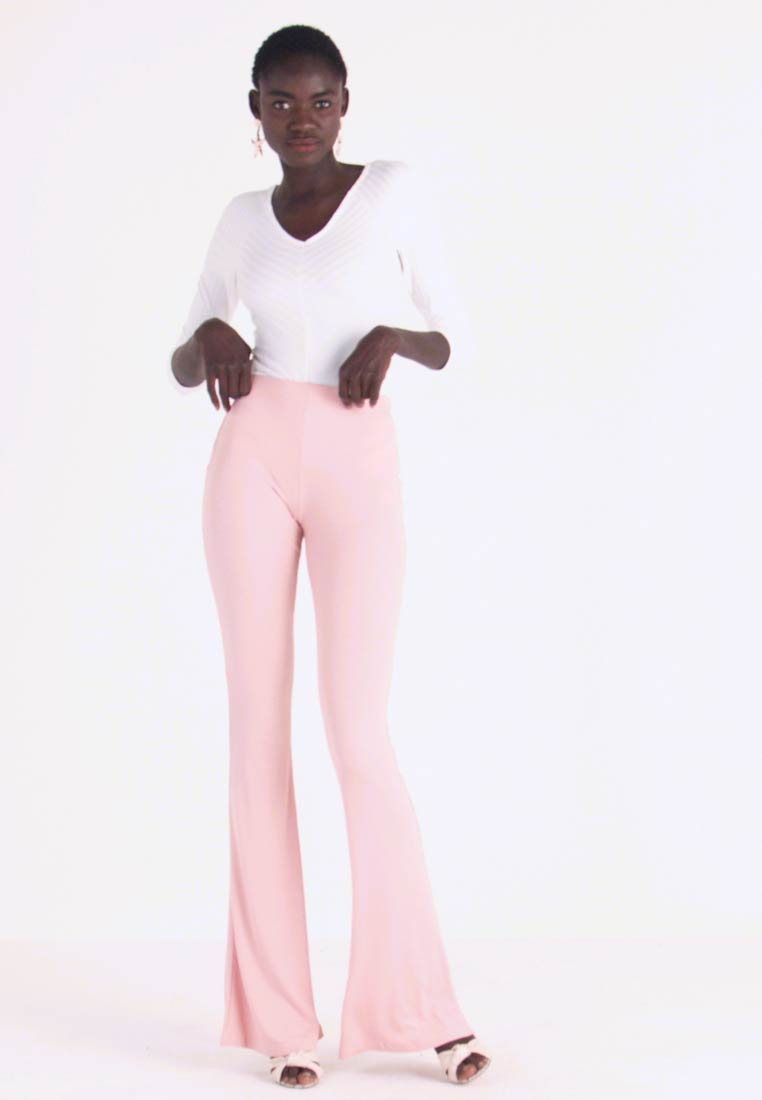 Missguided Tall - FLARE - Kalhoty - rose - 1