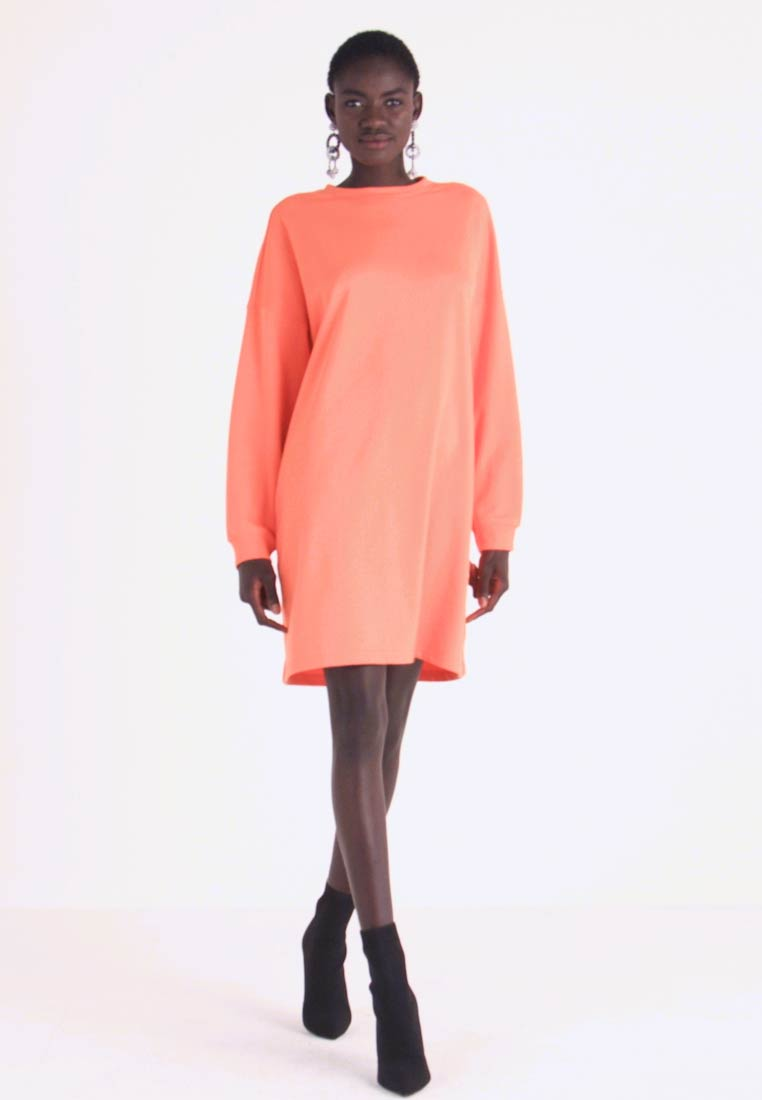 Missguided Tall - BASIC DRESS - Vapaa-ajan mekko - orange - 1