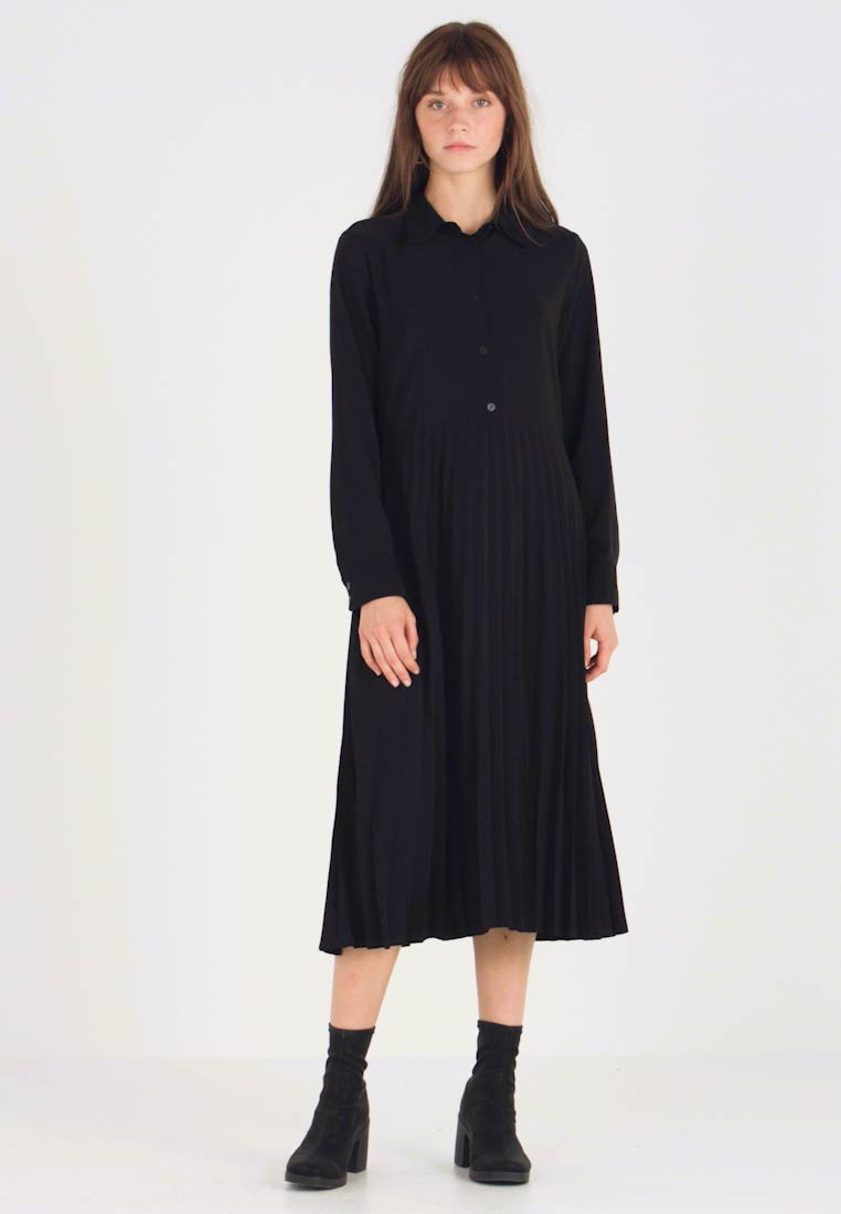 Monki - ELEONORE DRESS UNIQUE - Shirt dress - black - 1