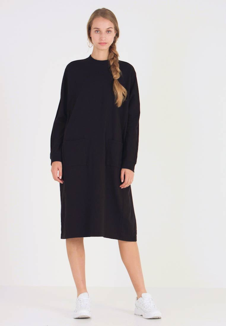 Monki - PLING DRESS - Kjole - black - 1
