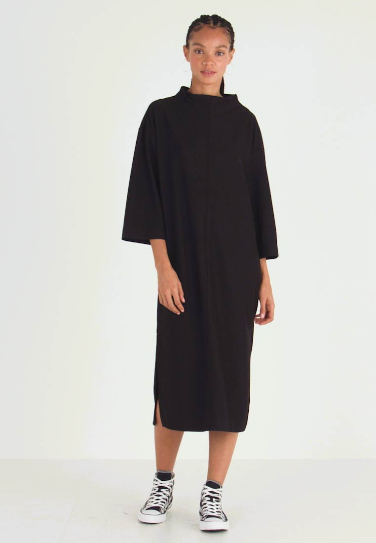 Monki - ARYA DRESS - Jerseykjole - black dark unique - 1