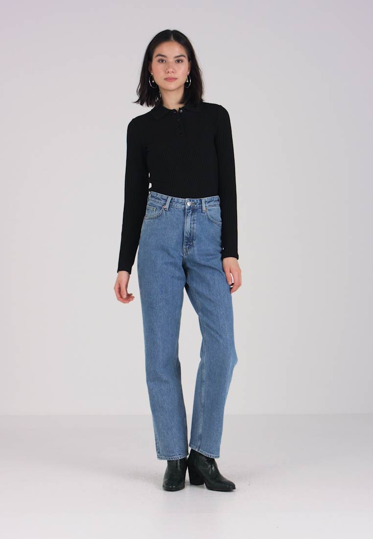 Monki - Jeans relaxed fit - blue - 1