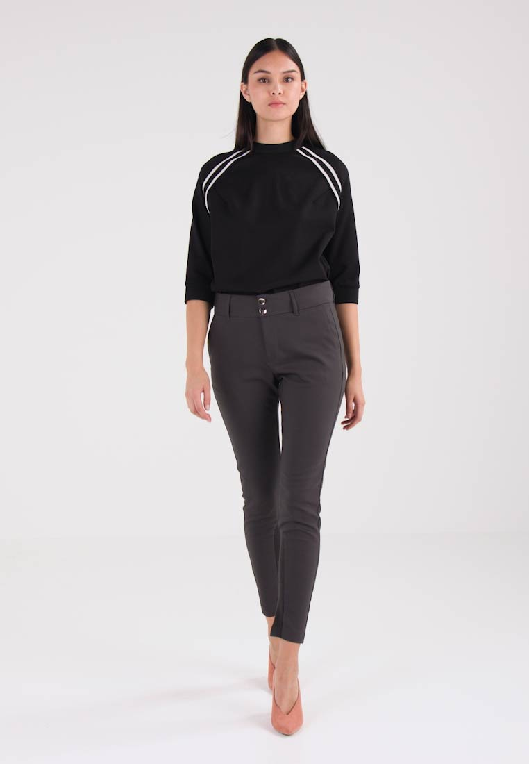 Mos Mosh - BLAKE NIGHT - Trousers - antracite - 1