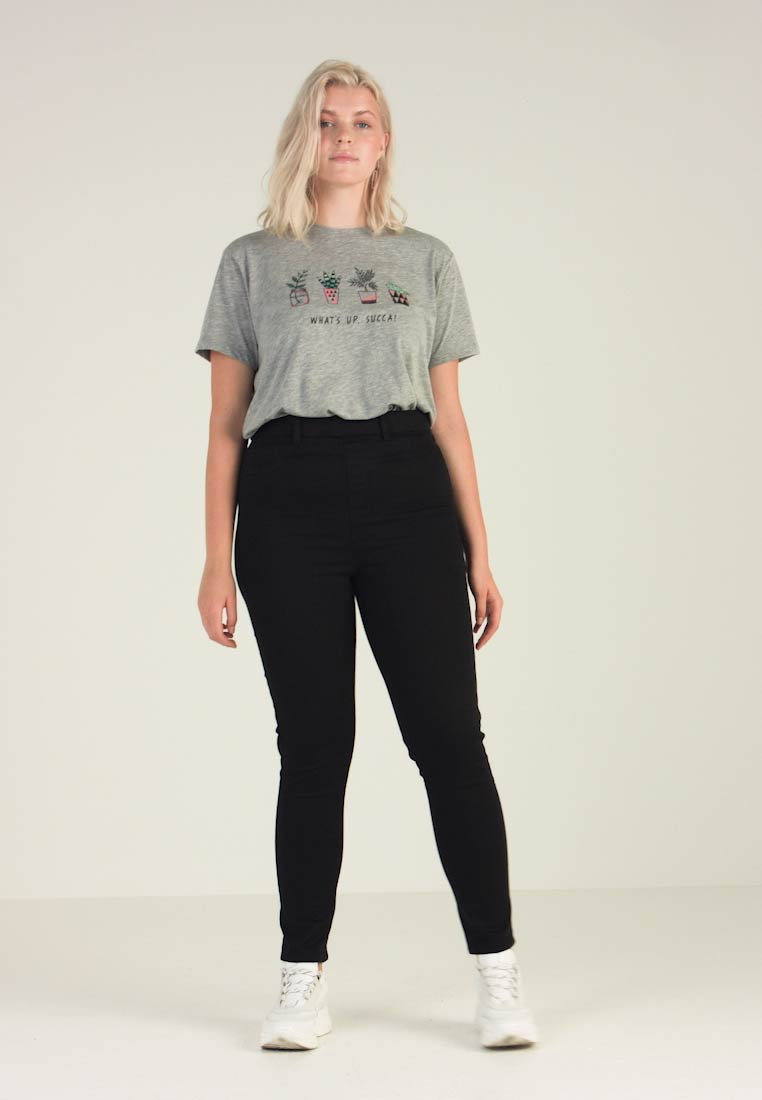 New Look Curves - Jeggings - black - 1