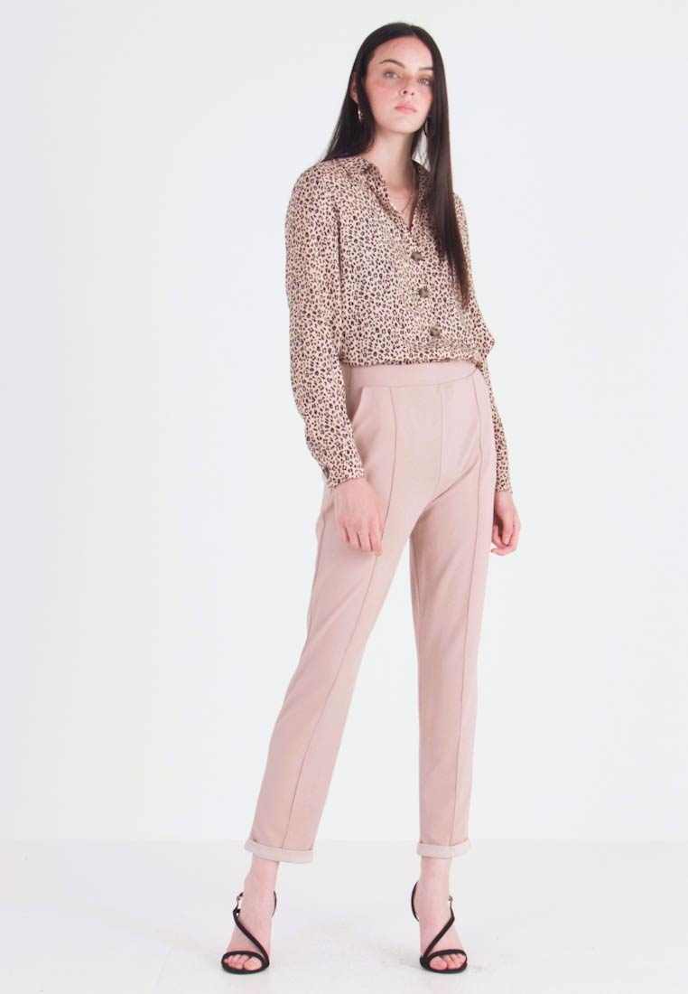 Nly by Nelly - DRESSED TAILORED PANTS - Broek - mushroom - 1