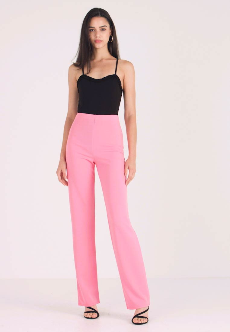 Nly by Nelly - STRAIGHT PANT - Trousers - pink - 1