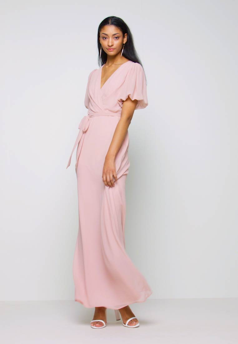 Nly by Nelly - PUFF SLEEVE GOWN - Suknia balowa - dusty pink - 1