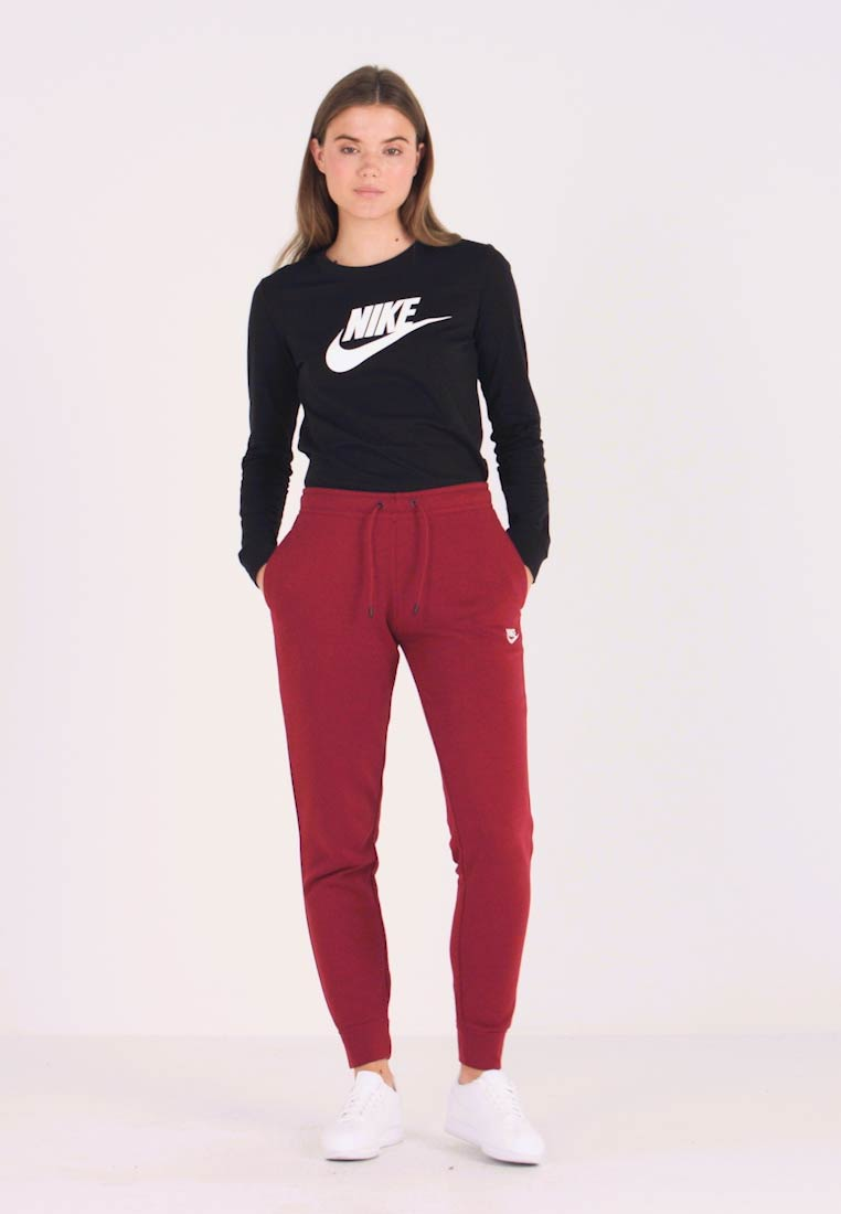 Nike Sportswear - Tracksuit bottoms - team red/white - 1