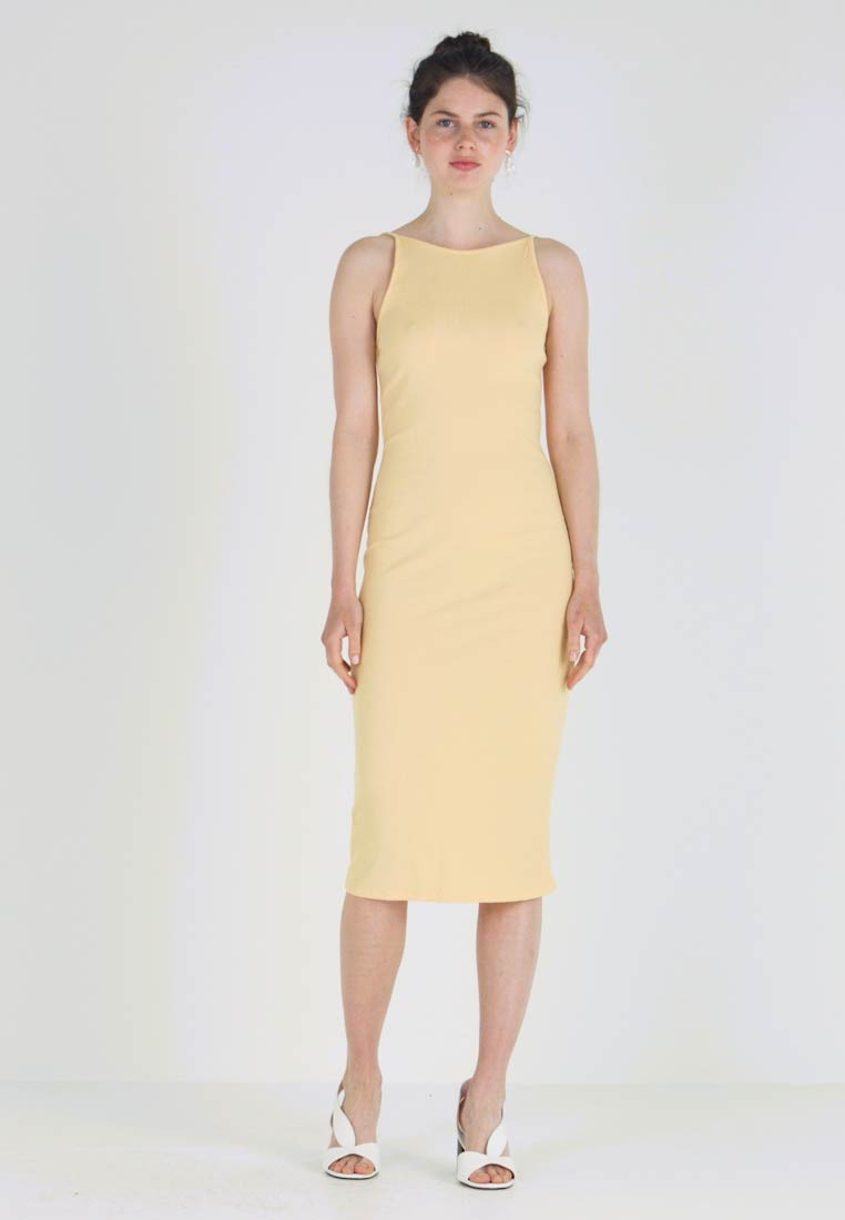 New Look - STRAPPY VARY - Shift dress - yellow - 1