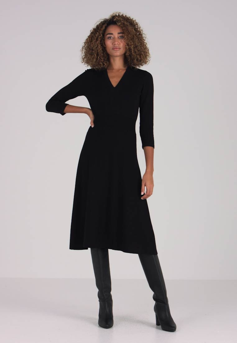 Noa Noa - ESSENTIAL - Jumper dress - black - 1