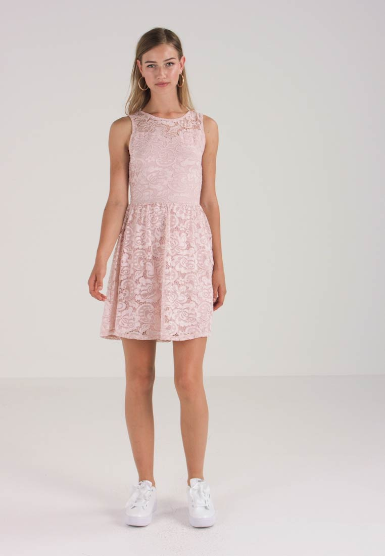 ONLY - ONLDICTE DRESS - Korte jurk - rose smoke - 1