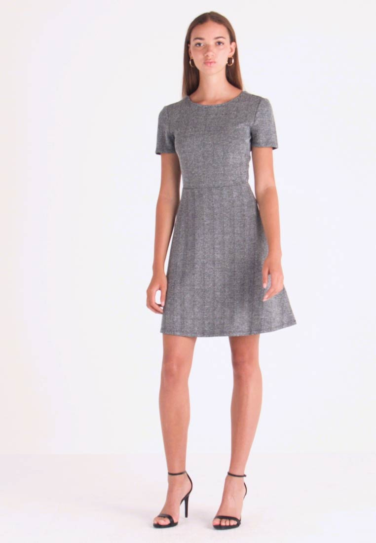 ONLY - ONLFLIFE DRESS - Jerseyjurk - dark grey melange/moonbeam - 1