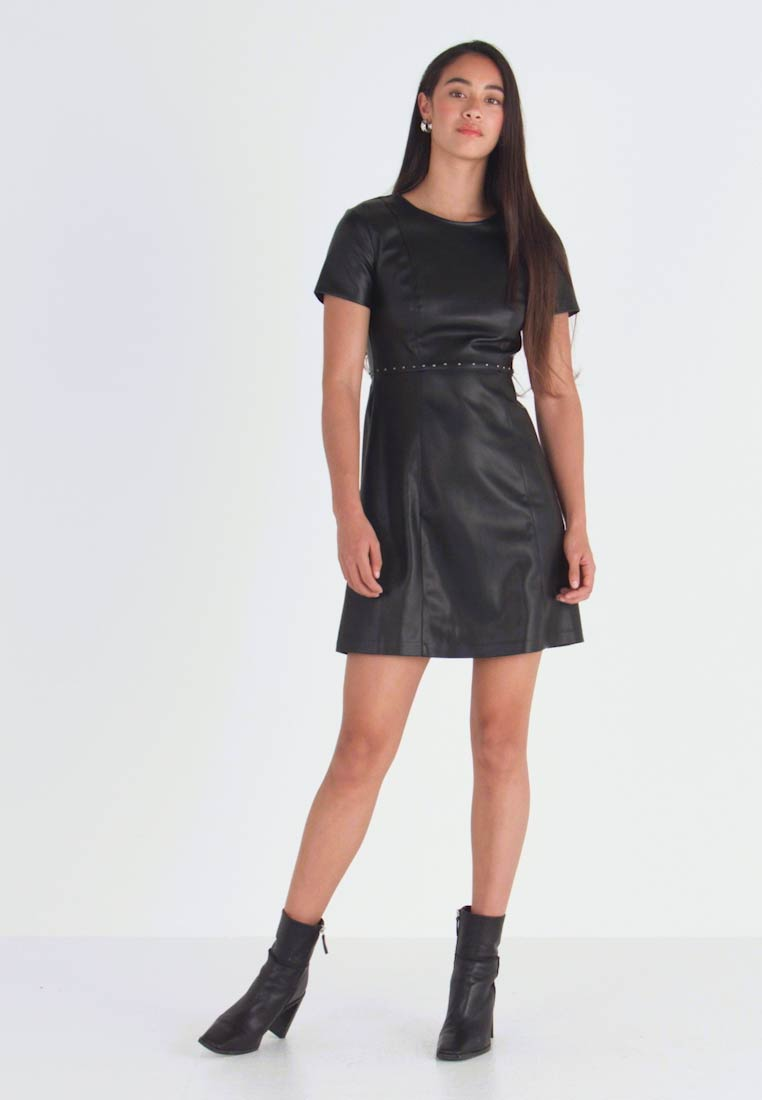 ONLY - ONLMAJKEN JOLEEN DRESS - Day dress - black - 1