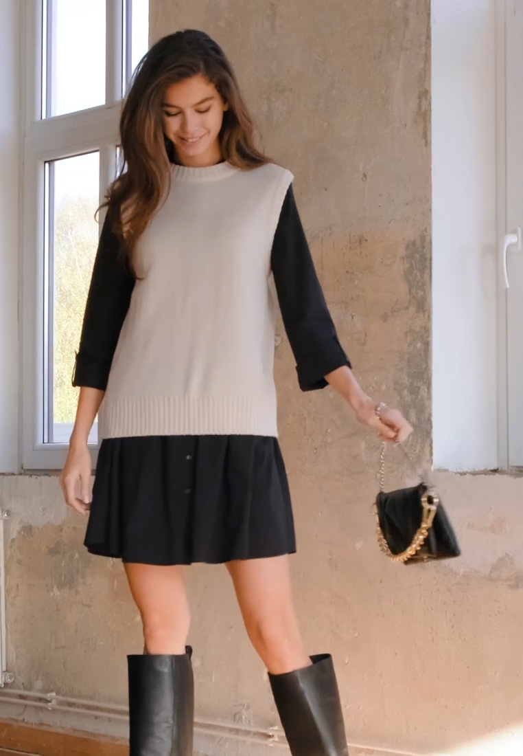 ONLY - ONLDITTE LIFE DRESS - Abito a camicia - forest night - 1