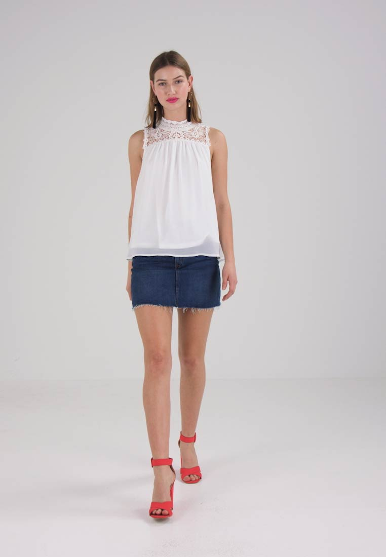 ONLY - ONLNEW CAT  - Bluse - cloud dancer - 1