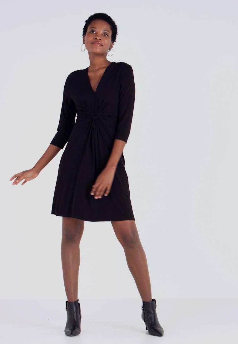 Opus - Day dress - black - 1