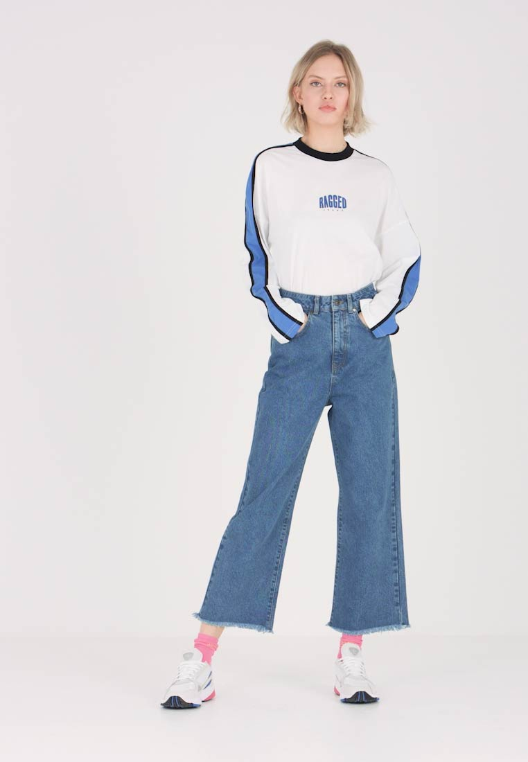 Ragged Jeans - Flared Jeans - mid blue - 1