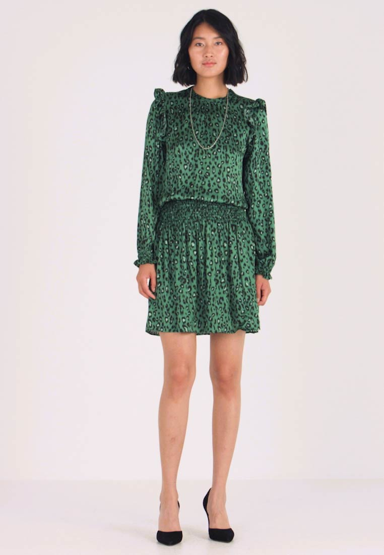 Replay - DRESS - Robe d'été - green/black - 1