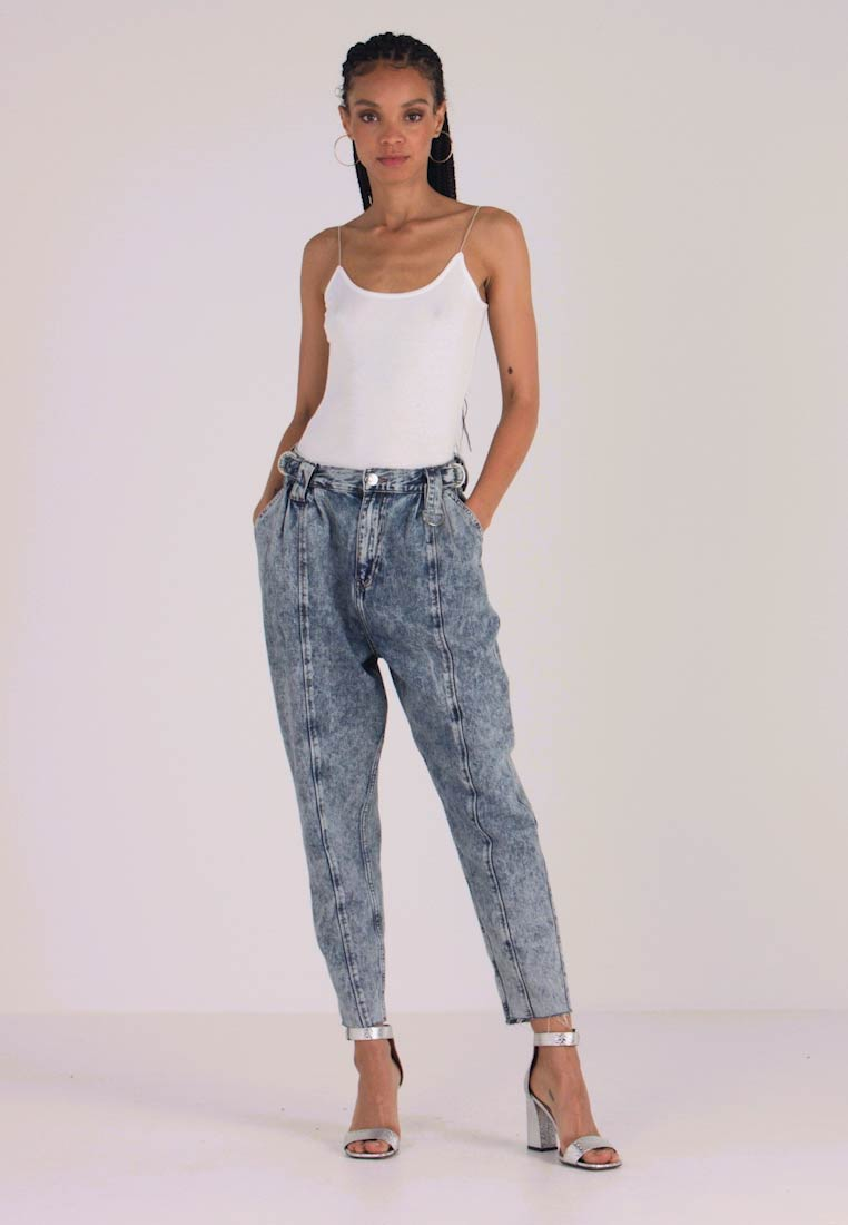 River Island - Relaxed fit jeans - acid mid - 1