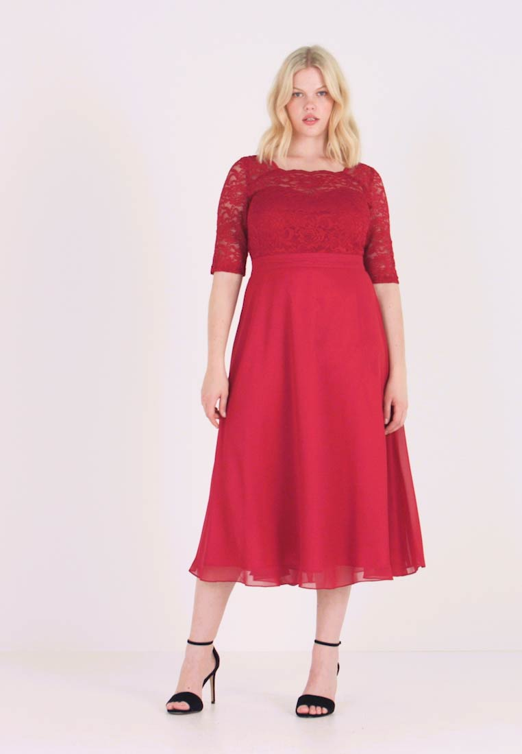 Swing Curve - Cocktail dress / Party dress - rot - 1