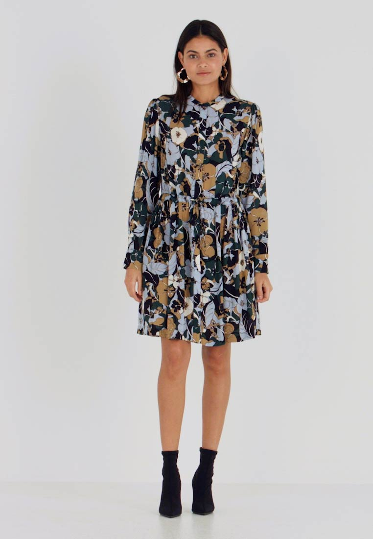 Samsøe Samsøe - MONIQUE SHIRT DRESS - Kjole - night meadow - 1