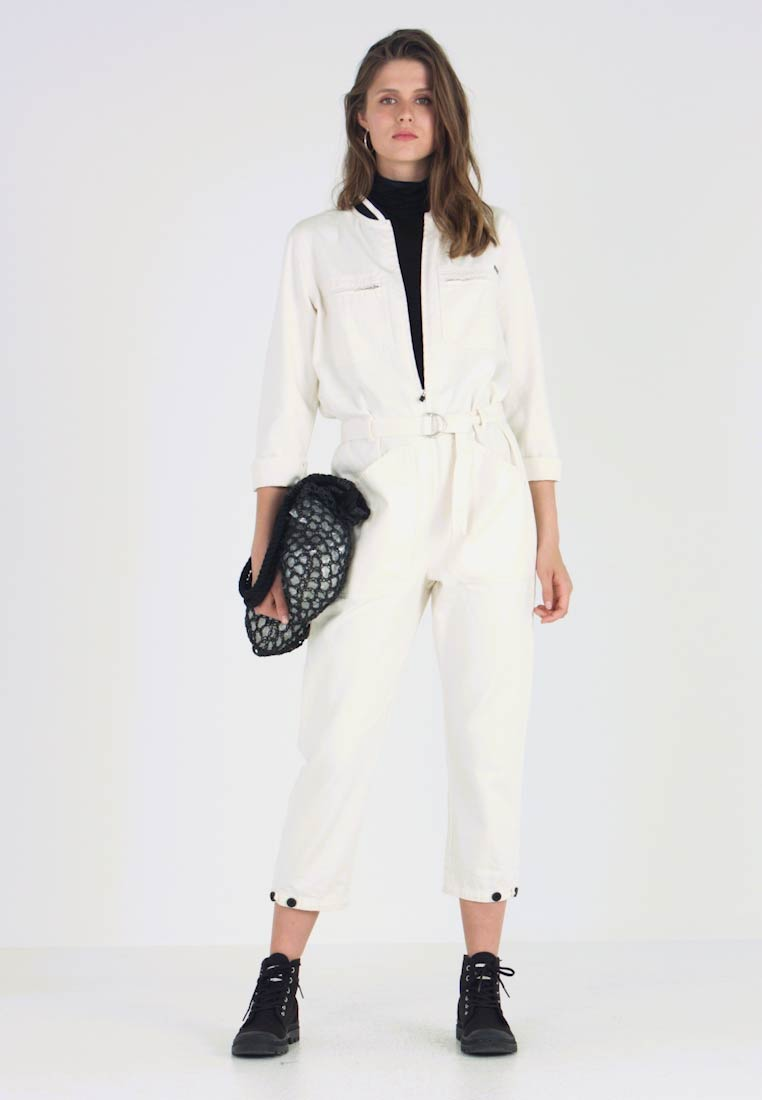 Scotch & Soda - BRUTUS COLAB ALL IN ONE WITH BIG BACK EMBROIDERY - Jumpsuit - ecru - 1