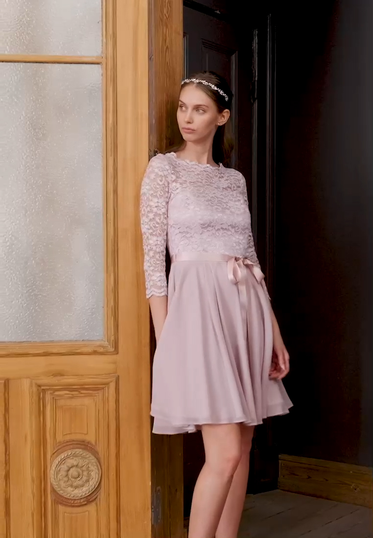Swing - Cocktail dress / Party dress - rose - 1