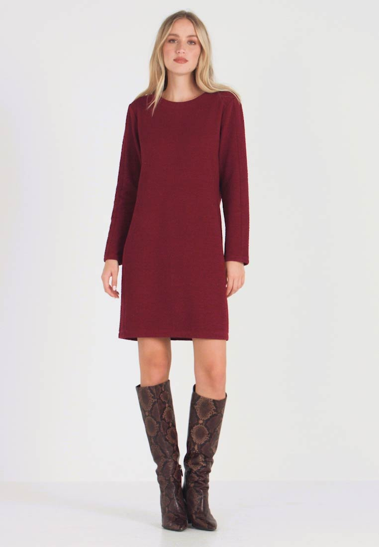 s.Oliver - Day dress - burgundy - 1
