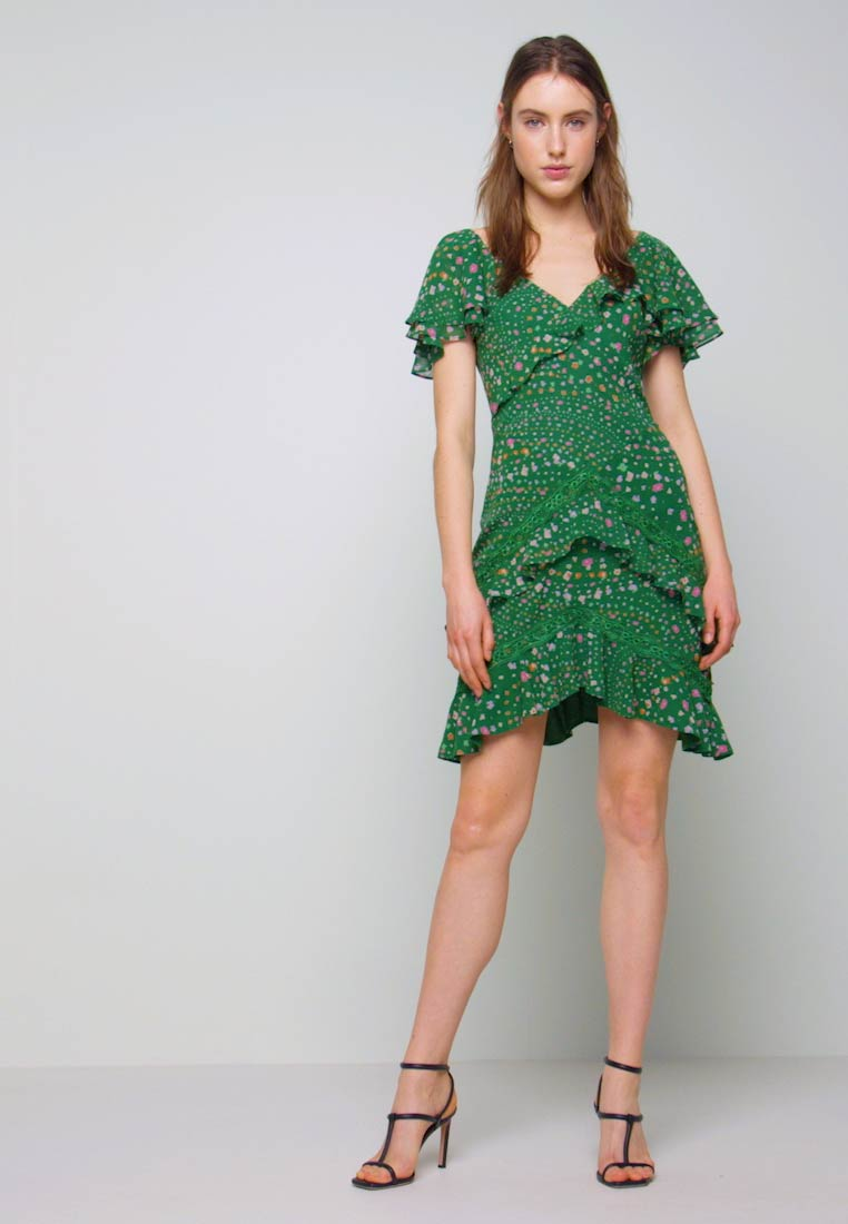 Three Floor - ELSIE DRESS - Kjole - jelly bean green - 1