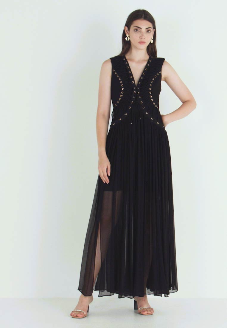 Thurley - FAITHFUL MAXI DRESS - Iltapuku - black - 1