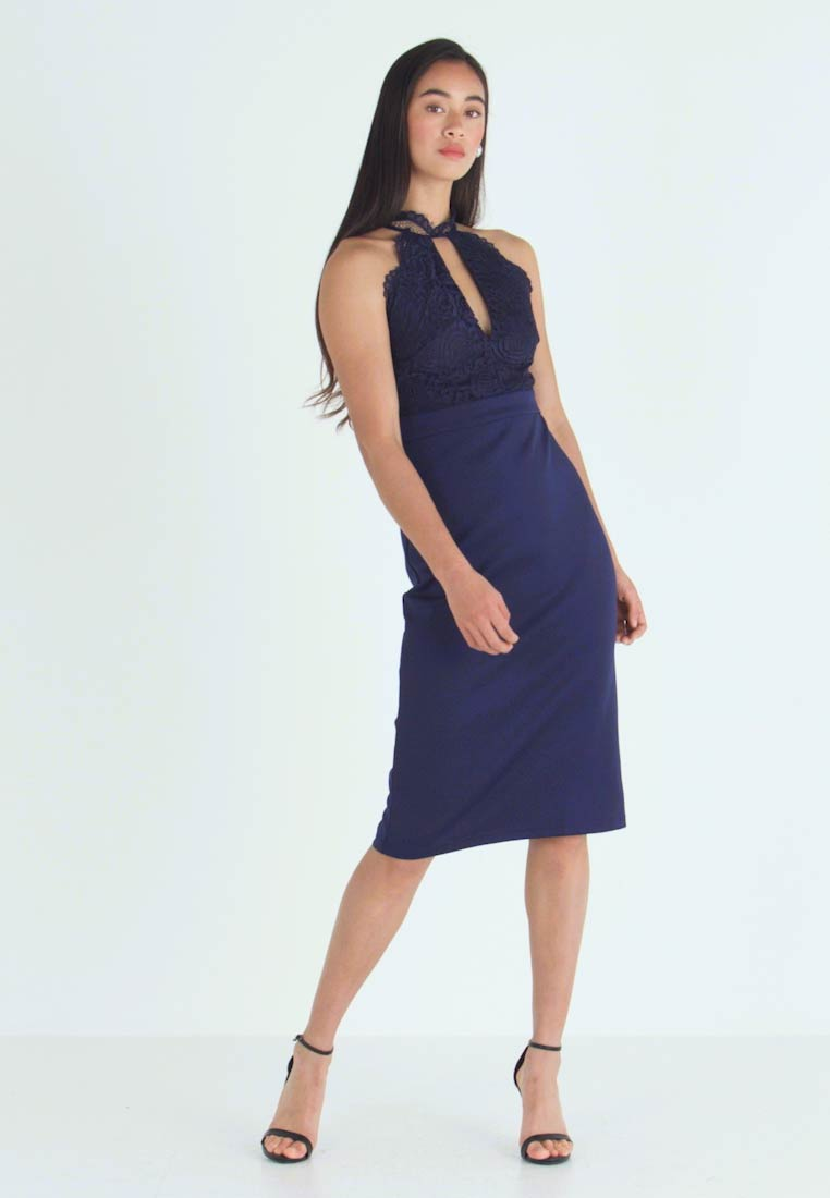 TFNC - MADINE DRESS - Cocktailjurk - navy - 1