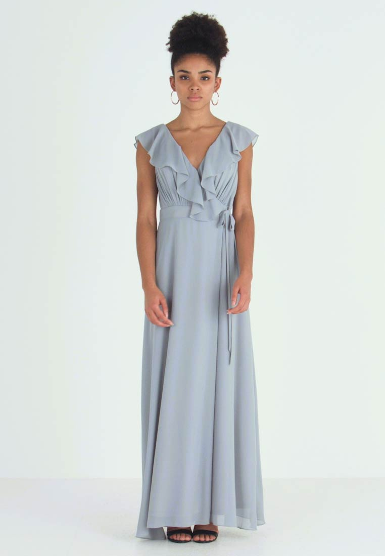 TFNC Petite - JANEAN MAXI WRAP - Occasion wear - grey blue - 1