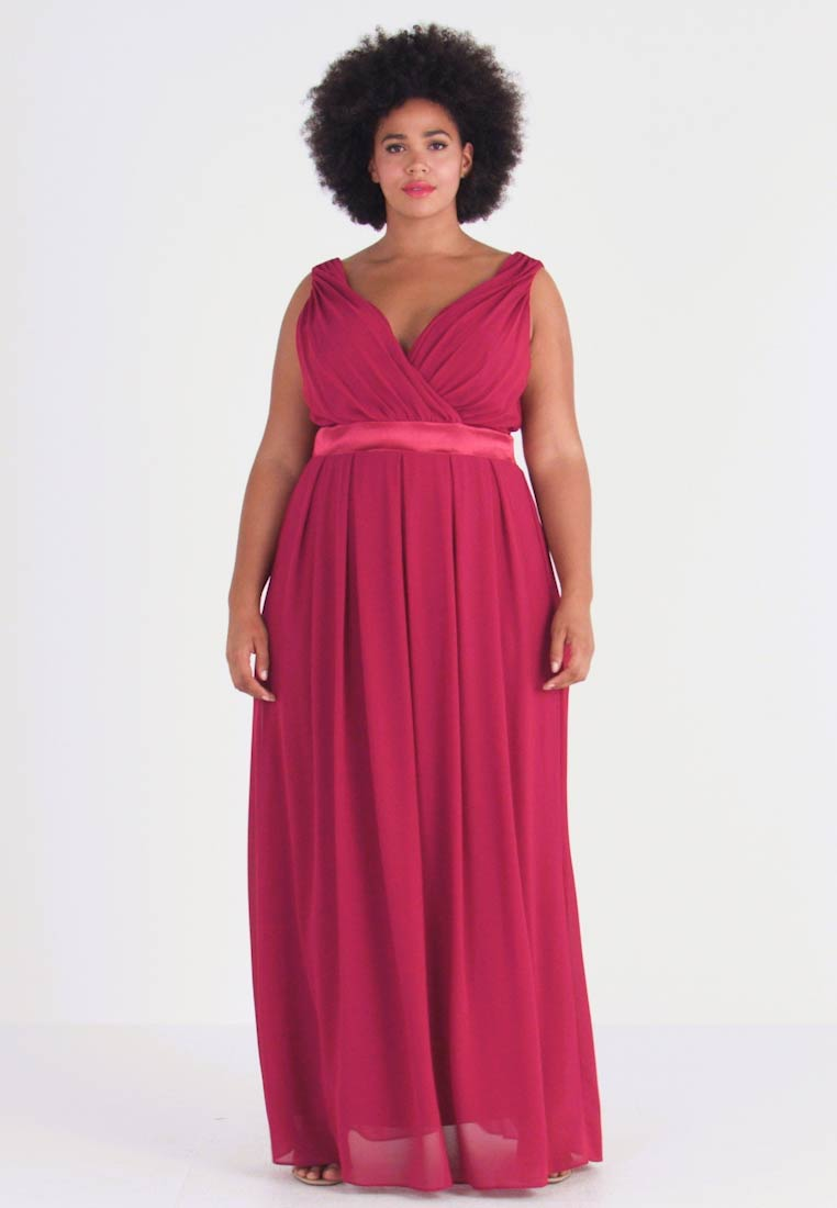 TFNC Curve - KILLY - Robe de cocktail - mulberry - 1