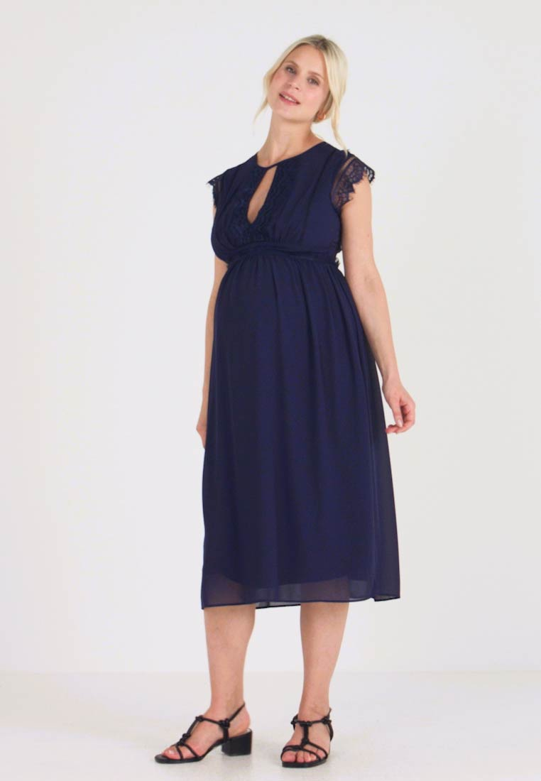 TFNC Maternity - EXCLUSIVE PRAGUE DRESS - Occasion wear - navy - 1